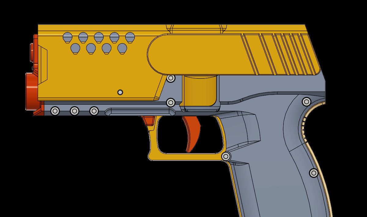 The DvZ Concept Pistol